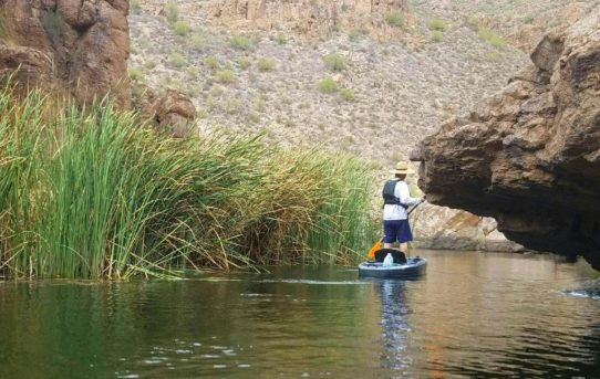 Kayaking the canyons of Canyon Lake